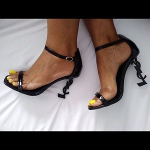 YSL Black Heel